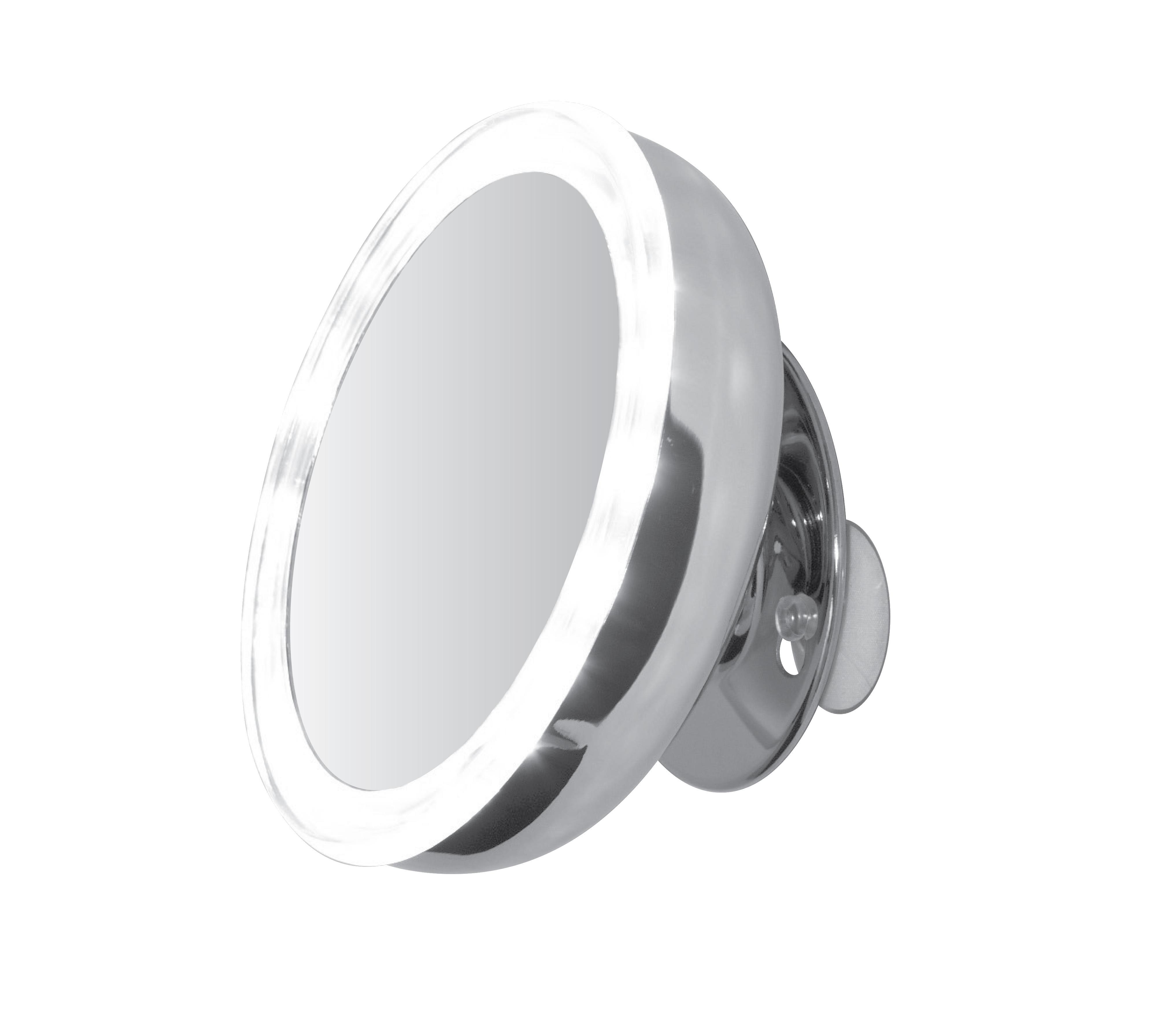 sminkspegel belysning sugpropp