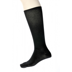 Stödstrumpa svart 43-45