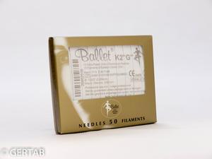 Epileringsnål Ballet guld K-skaft 50 st