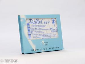Epileringsnål Ballet isolerad F-skaft 50 st