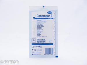 Cosmopor plåster 8 x 15cm steril 25st/frp.