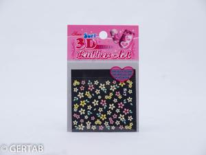 Nageldekor stickers blommor S17