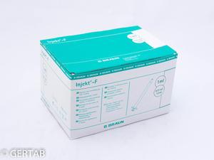 Spruta 1ml utan packning 100st/frp