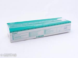 Spruta 2ml utan packning 100st/frp